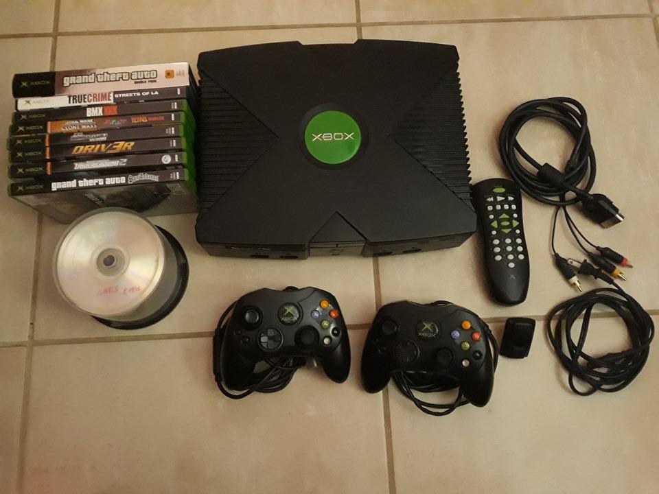 Modded Original Xboxrnexecuter Modchip Installed Rn9 Original